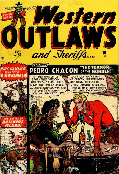Cover for Western Outlaws and Sheriffs (Marvel, 1949 series) #63