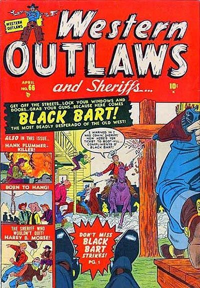Cover for Western Outlaws and Sheriffs (Marvel, 1949 series) #66