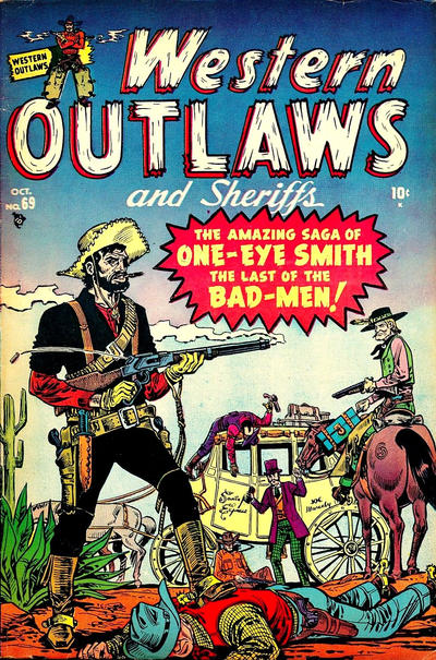 Cover for Western Outlaws and Sheriffs (Marvel, 1949 series) #69