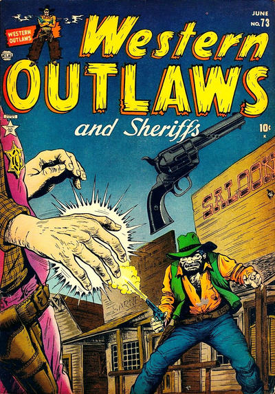 Cover for Western Outlaws and Sheriffs (Marvel, 1949 series) #73
