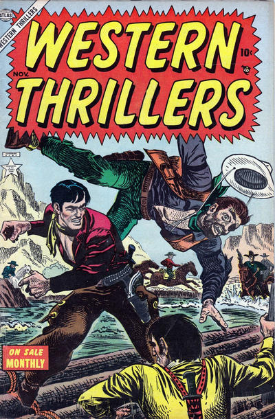 Cover for Western Thrillers (Marvel, 1954 series) #1
