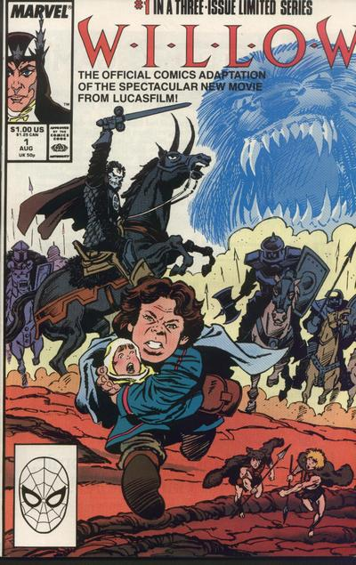 Cover for Willow (Marvel, 1988 series) #1 [Direct Edition]