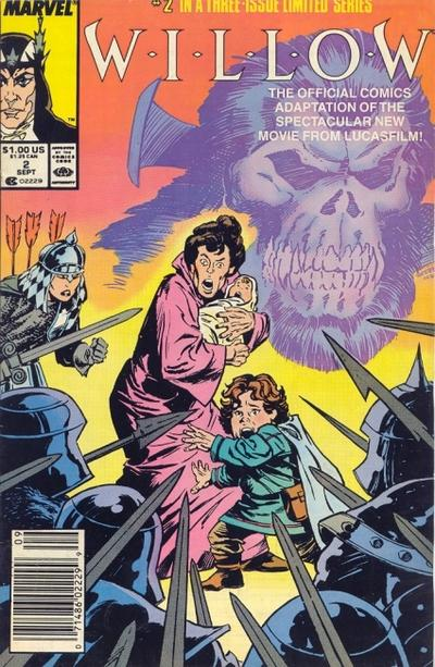 Cover for Willow (Marvel, 1988 series) #2 [Direct Edition]