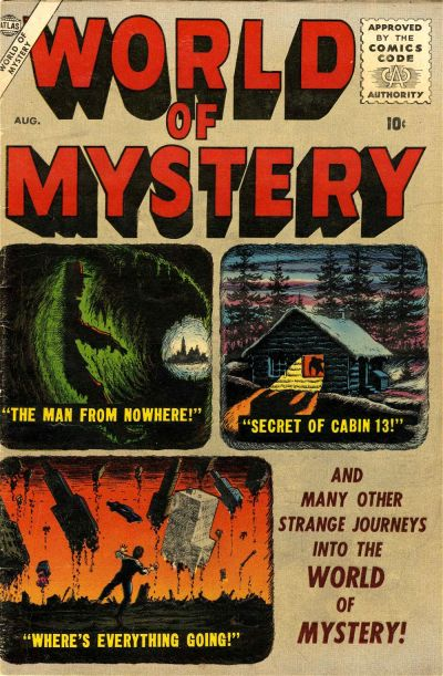 Cover for World of Mystery (Marvel, 1956 series) #2