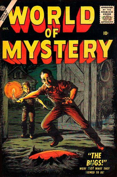 Cover for World of Mystery (Marvel, 1956 series) #3
