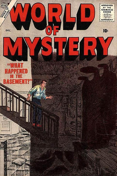 Cover for World of Mystery (Marvel, 1956 series) #4