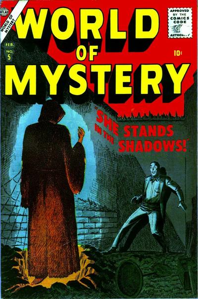 Cover for World of Mystery (Marvel, 1956 series) #5