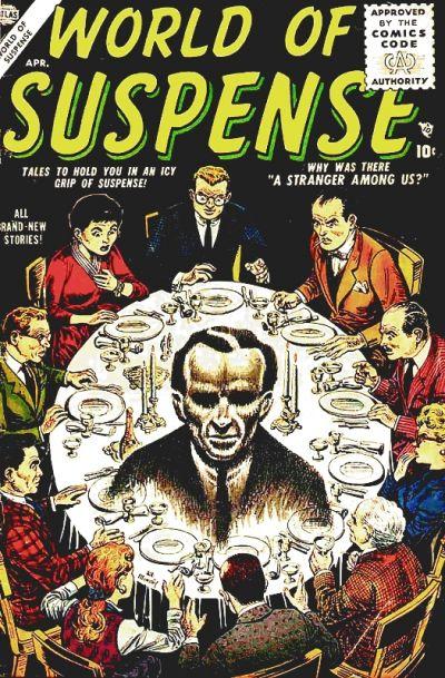 Cover for World of Suspense (Marvel, 1956 series) #1