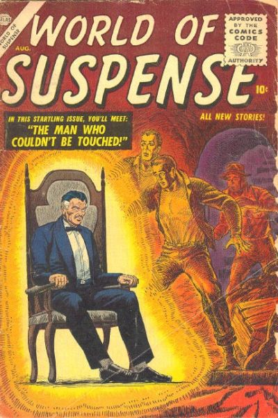 Cover for World of Suspense (Marvel, 1956 series) #3