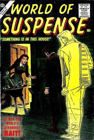 Cover for World of Suspense (Marvel, 1956 series) #4