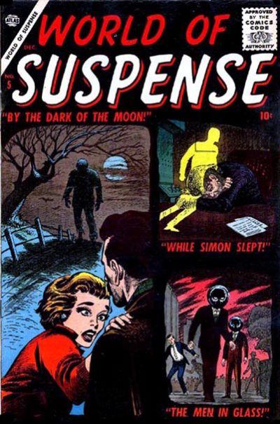 Cover for World of Suspense (Marvel, 1956 series) #5