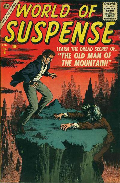 Cover for World of Suspense (Marvel, 1956 series) #6