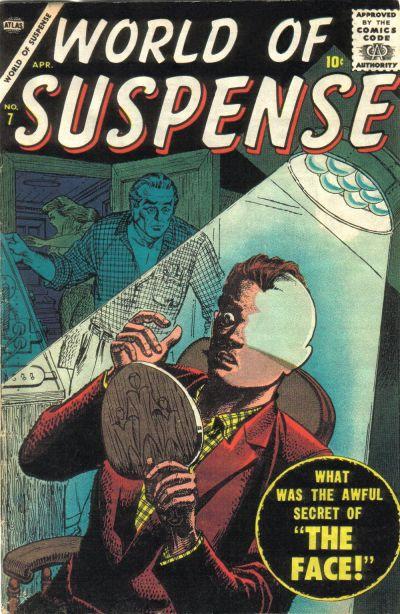 Cover for World of Suspense (Marvel, 1956 series) #7