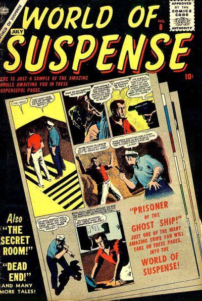 Cover for World of Suspense (Marvel, 1956 series) #8