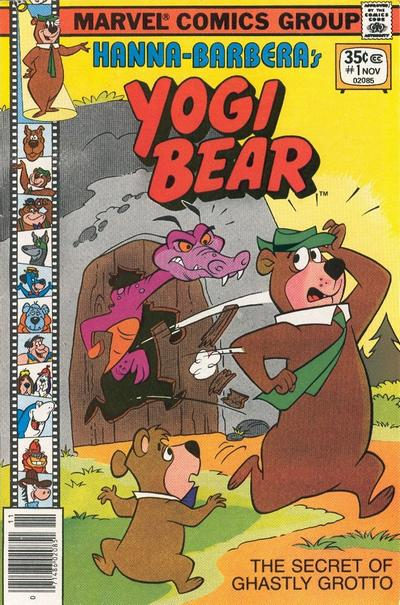 Cover for Yogi Bear (Marvel, 1977 series) #1