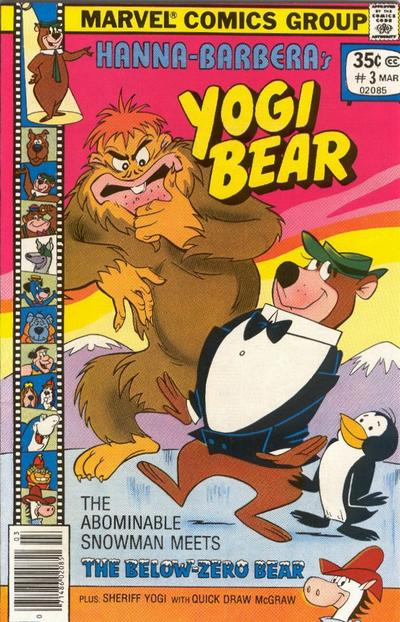 Cover for Yogi Bear (Marvel, 1977 series) #3