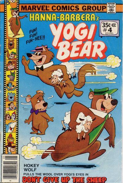 Cover for Yogi Bear (Marvel, 1977 series) #4