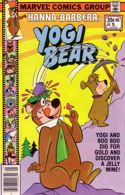Cover for Yogi Bear (Marvel, 1977 series) #5