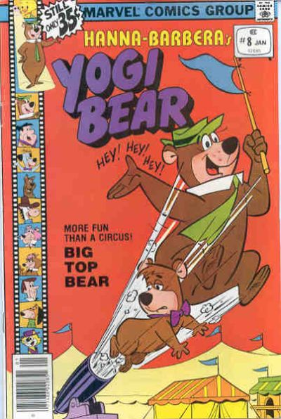 Cover for Yogi Bear (Marvel, 1977 series) #8