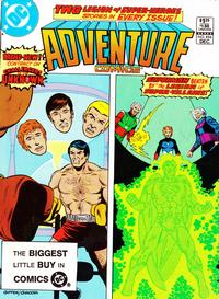 Cover Thumbnail for Adventure Comics (DC, 1938 series) #494 [Direct Sales]