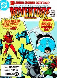 Cover Thumbnail for Adventure Comics (DC, 1938 series) #498 [Direct-Sales]