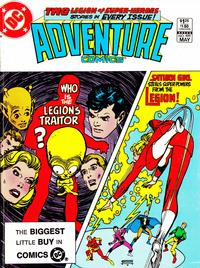 Cover Thumbnail for Adventure Comics (DC, 1938 series) #499 [Direct-Sales]