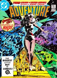 Cover Thumbnail for Adventure Comics (DC, 1938 series) #502 [Direct]
