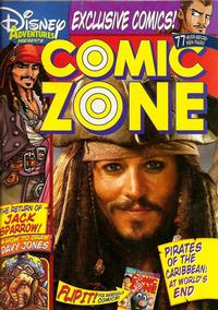 Cover Thumbnail for Disney Adventures Comic Zone (Disney, 2004 series) #Summer 2007 [12]