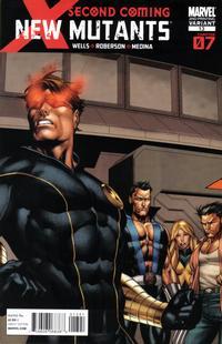 Cover Thumbnail for New Mutants (Marvel, 2009 series) #13 [2nd Print Variant]