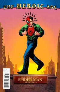 Cover Thumbnail for The Amazing Spider-Man (Marvel, 1999 series) #633 [The Heroic Age]
