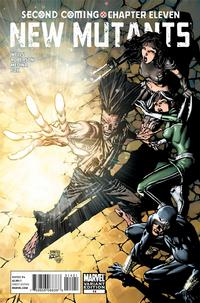 Cover Thumbnail for New Mutants (Marvel, 2009 series) #14 [Finch Cover]