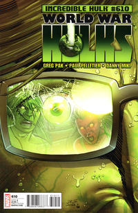 Cover Thumbnail for Incredible Hulk (Marvel, 2009 series) #610 [Direct Edition]