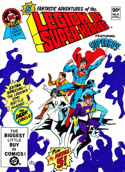 Cover for DC Special Blue Ribbon Digest (DC, 1980 series) #8 [Newsstand]