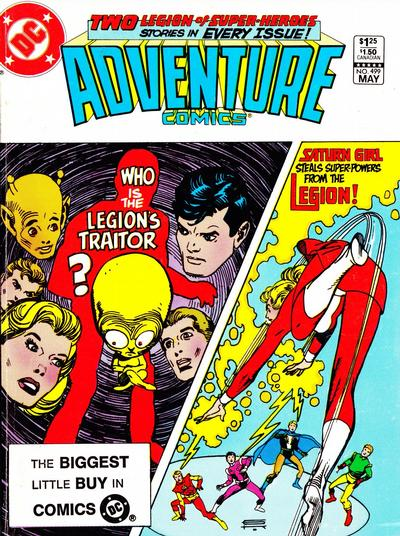 Cover for Adventure Comics (DC, 1938 series) #499 [Newsstand]