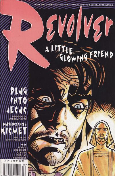 Cover for Revolver (Fleetway Publications, 1991 series) #4