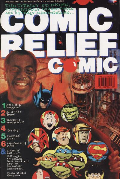 Cover for The Comic Relief Comic (Fleetway Publications, 1991 series) #[nn]