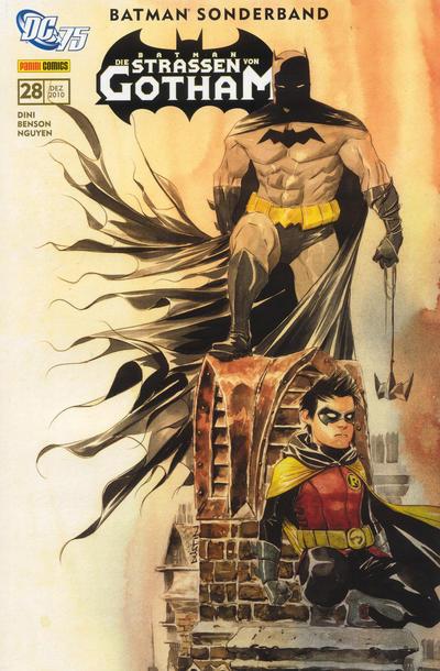 Cover for Batman Sonderband (Panini Deutschland, 2004 series) #28 - Auf Messers Schneide