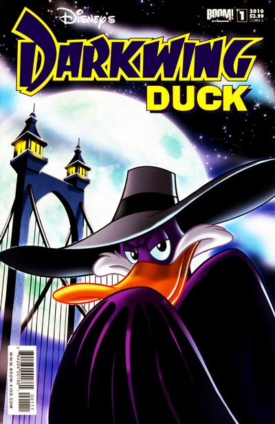Cover for Darkwing Duck (Boom! Studios, 2010 series) #1 [New York Comic Con Times Square Variant]