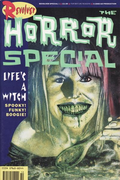 Cover for The Revolver Horror Special (Fleetway Publications, 1990 series)