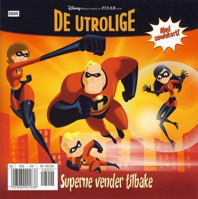 Cover for De Utrolige (Hjemmet / Egmont, 2005 series)