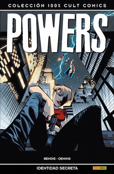 Cover for 100% Cult Comics. Powers (Panini España, 2009 series) #[11]