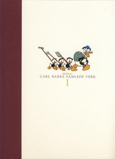 Cover for Carl Barks samlede verk (Hjemmet / Egmont, 2005 series) #1