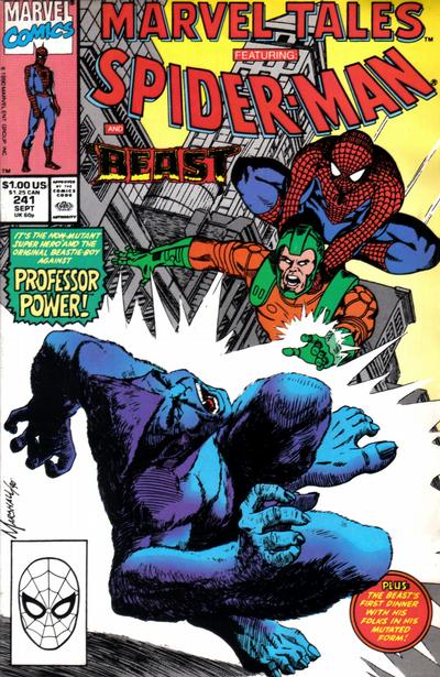 Cover for Marvel Tales (Marvel, 1966 series) #241 [Direct Edition]
