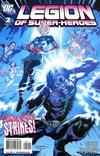 Cover for Legion of Super-Heroes (DC, 2010 series) #2 [Direct Sales]