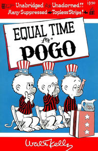 Cover Thumbnail for Equal Time for Pogo (Simon and Schuster, 1968 series)