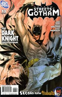 Cover Thumbnail for Batman: Streets of Gotham (DC, 2009 series) #13