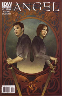 Cover Thumbnail for Angel (IDW, 2009 series) #34 [Cover A - Jenny Frison]