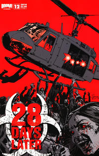 Cover Thumbnail for 28 Days Later (Boom! Studios, 2009 series) #12 [Cover A]