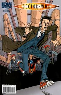 Cover Thumbnail for Doctor Who (IDW, 2009 series) #12 [Regular Cover]