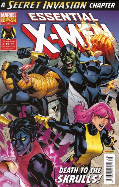 Cover for Essential X-Men (Panini UK, 2010 series) #6